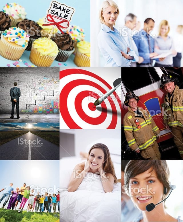 Stock picture cliches