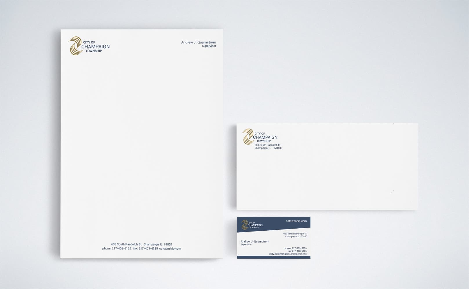City of Champaign Township Stationery