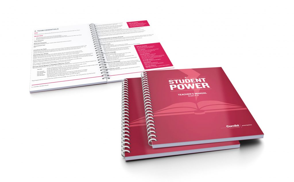 Student Power workbooks for ComEd