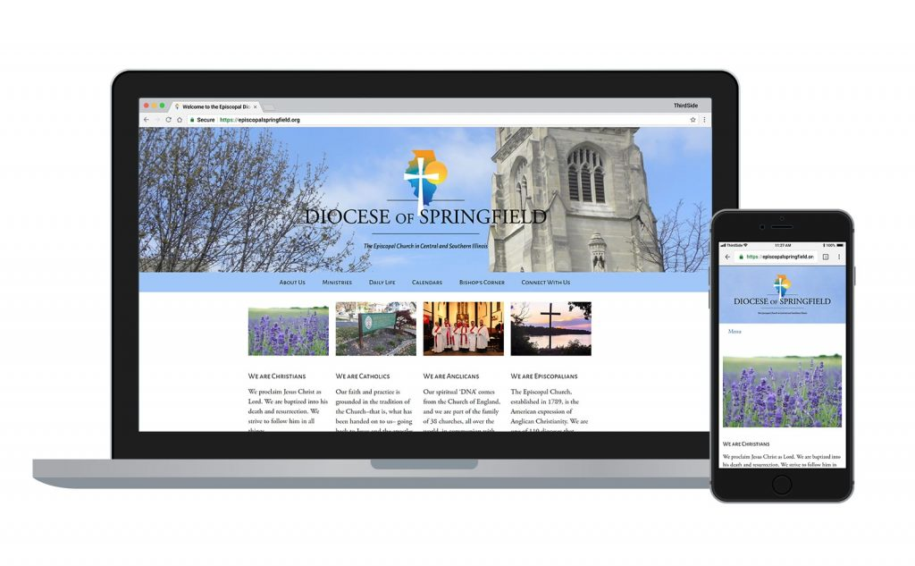 website for the Episcopal Diocese of Springfield