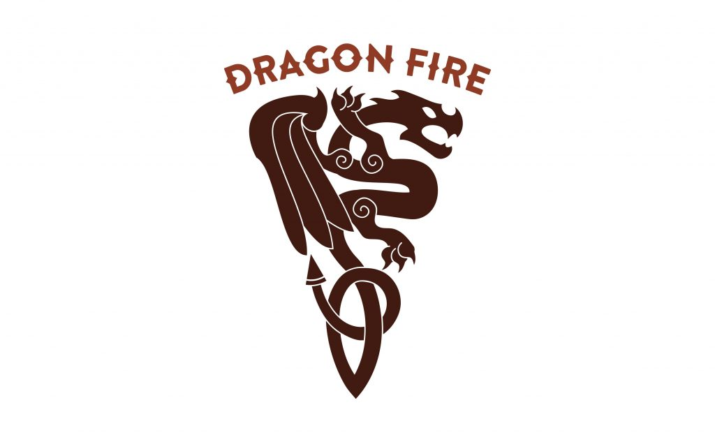 logo for Dragon Fire Pizza