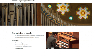 new website for John-Paul Buzard Pipe Organ Builders