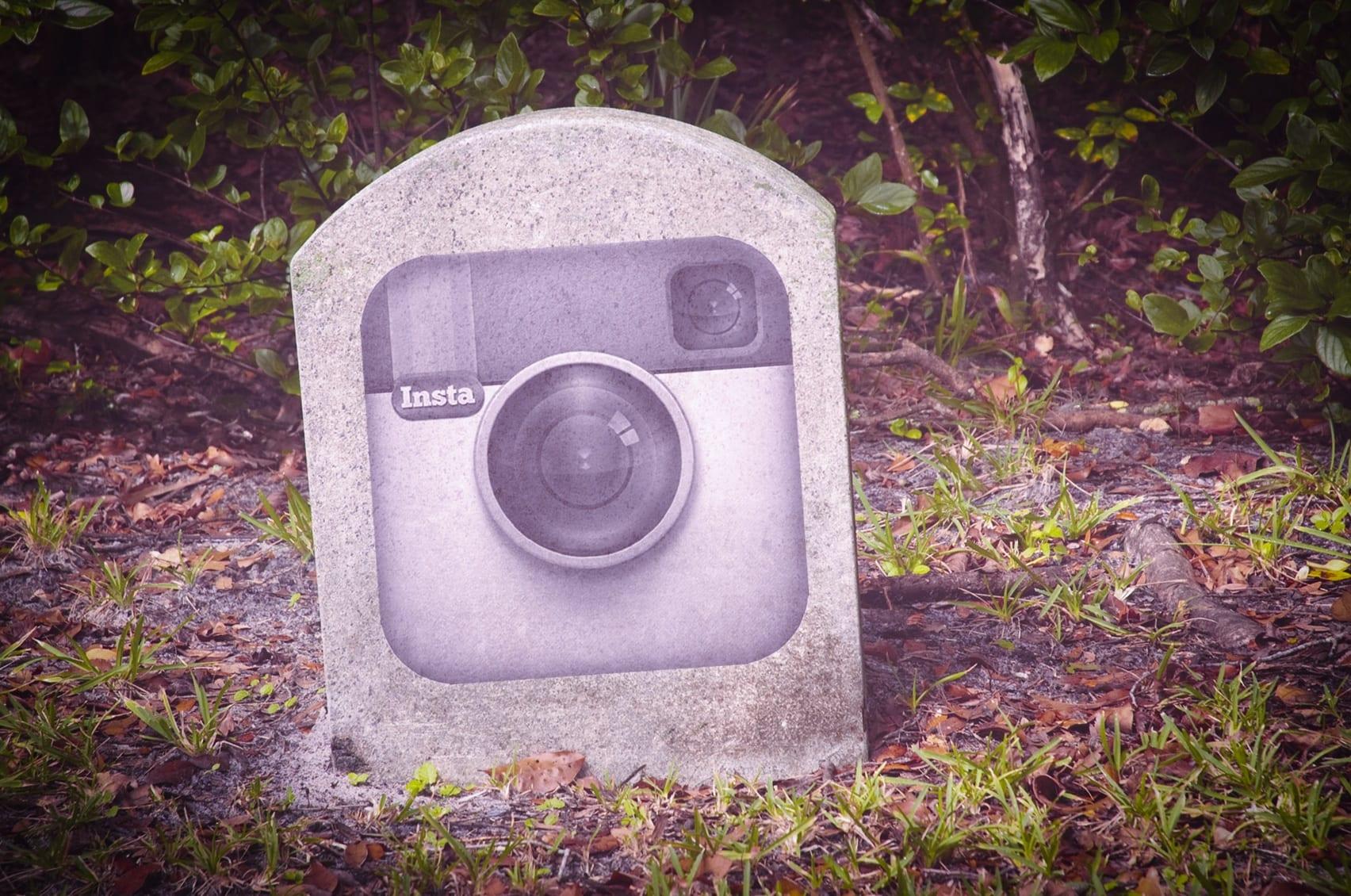 RIP Instagram Logo