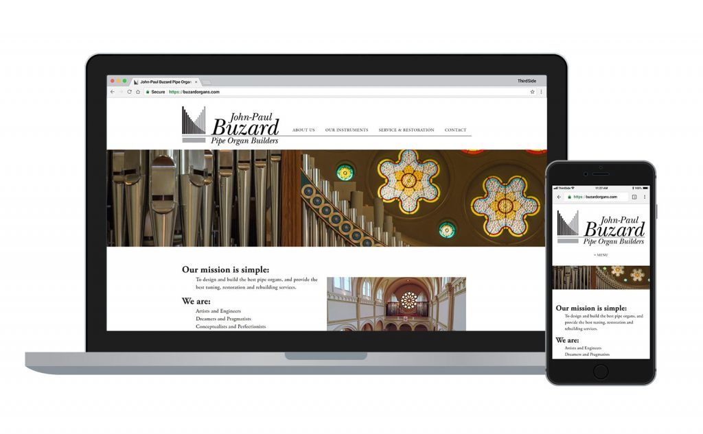website for Buzard Organs
