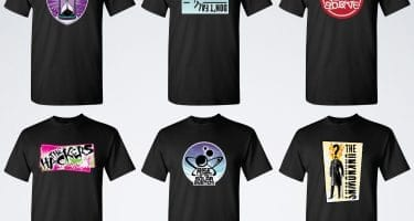 first gig band shirts
