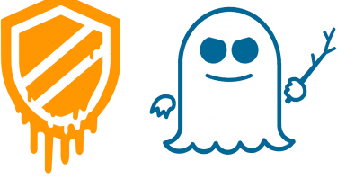 Meltdown and Spectre logos