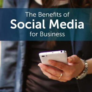 social media benefits business