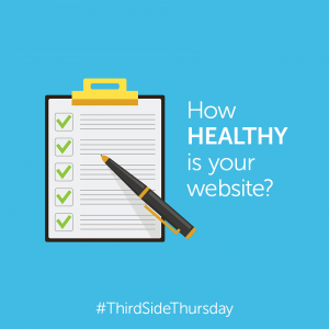 healthy website checkup