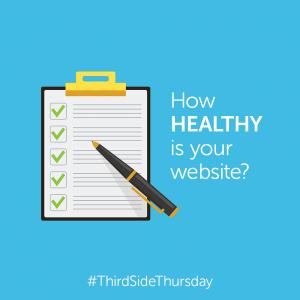 healthy website checkup