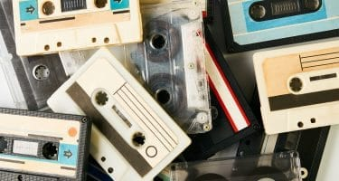 is your outdated website stuck in the 90s like these old cassette tapes