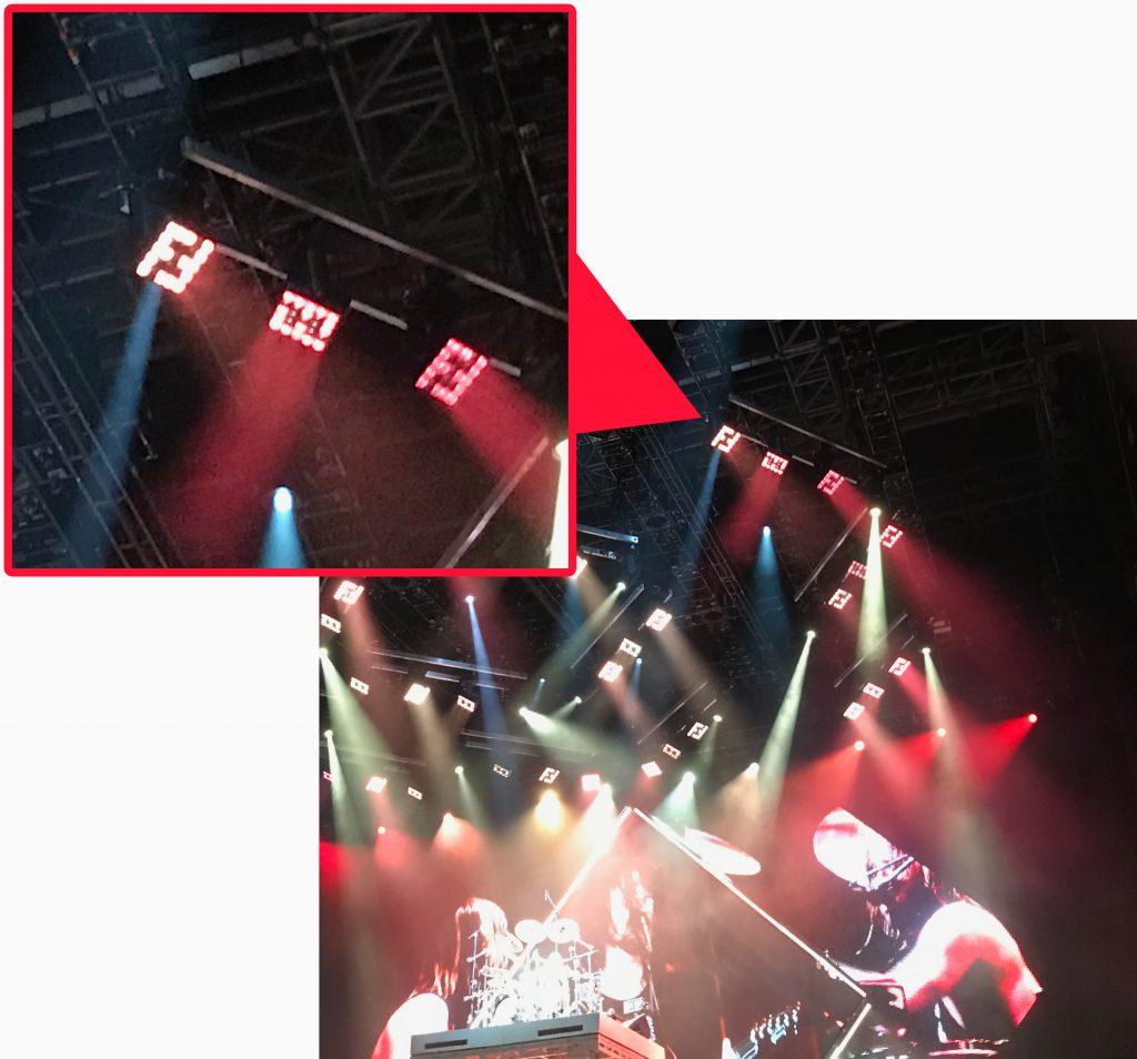 Foo Fighters logo LED lights