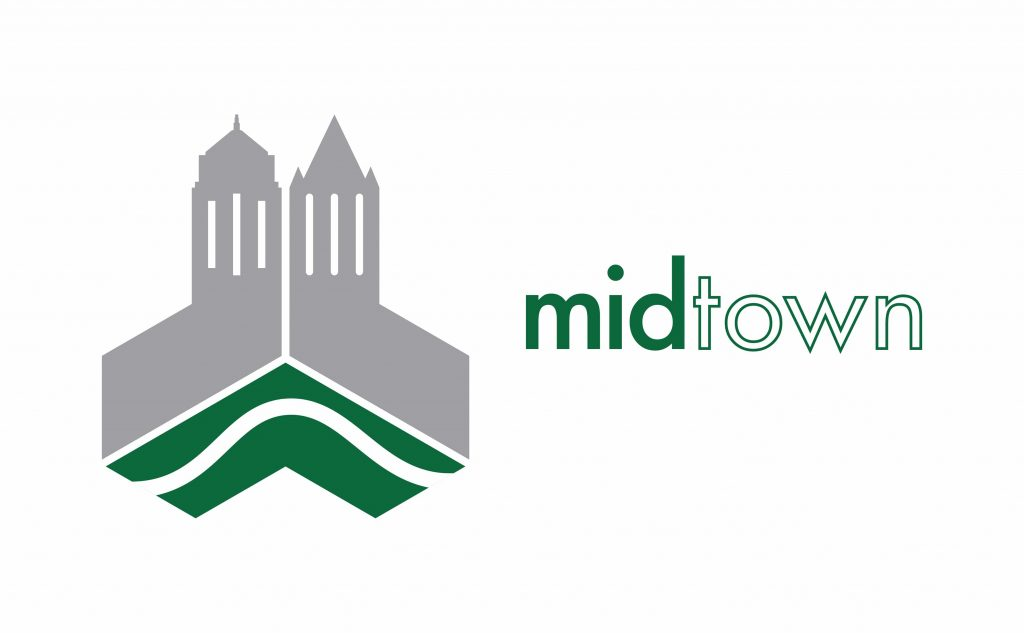 Champaign Center Partnership logo highlighting the midtown area