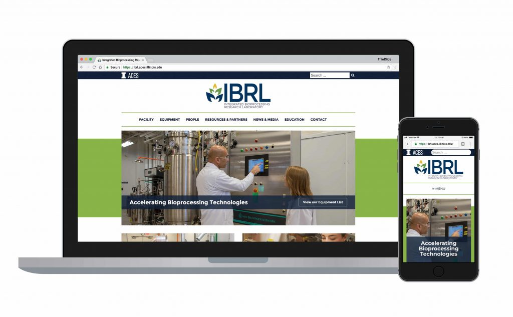website for IBRL University of Illinois