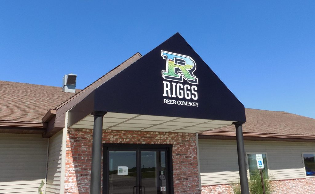 Riggs Beer Company awning