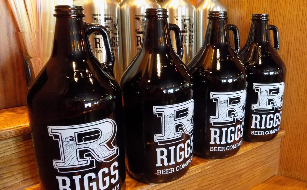 Riggs Beer Company growlers