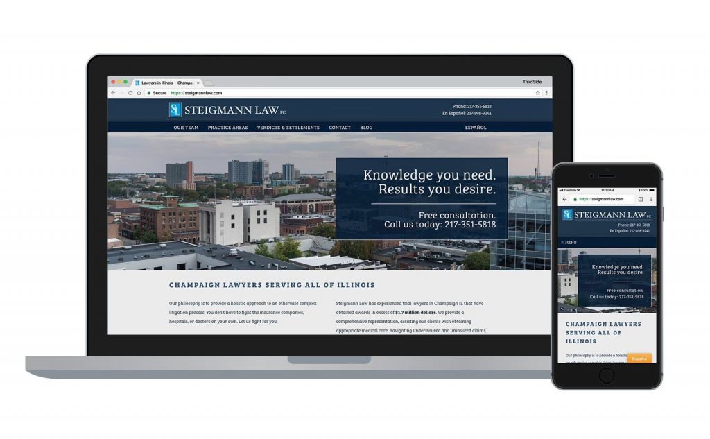 Steigmann Law, PC website
