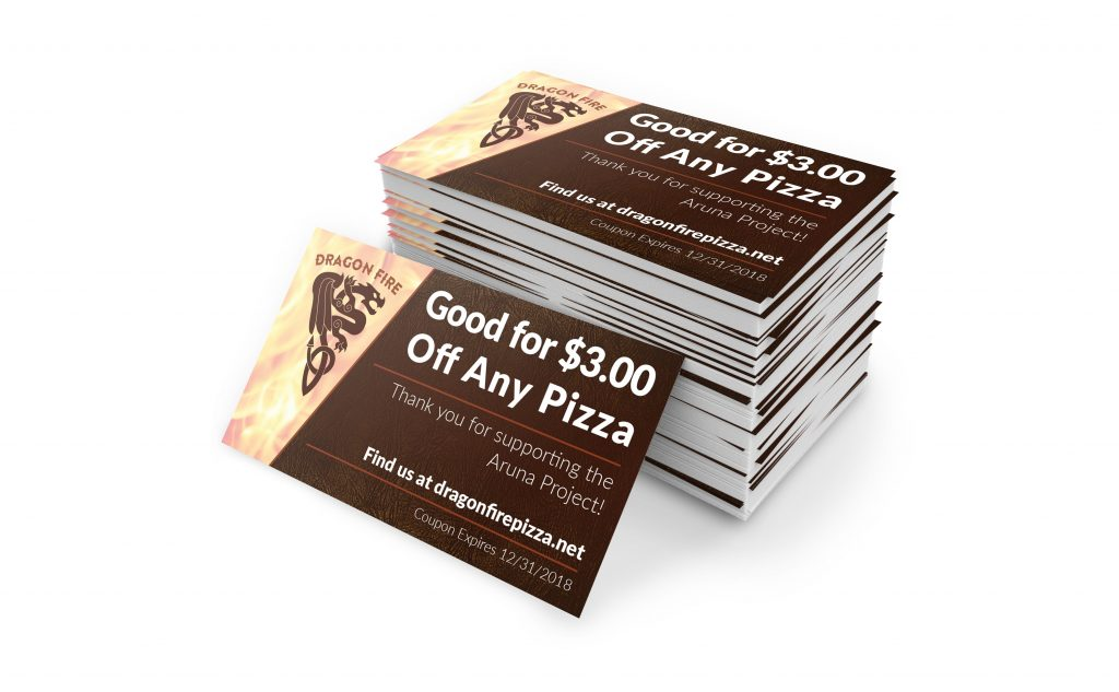 coupon for Dragon Fire Pizza