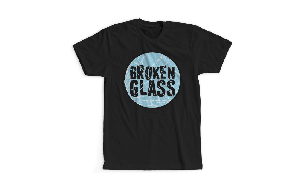 First Gig Shirt Broken Glass