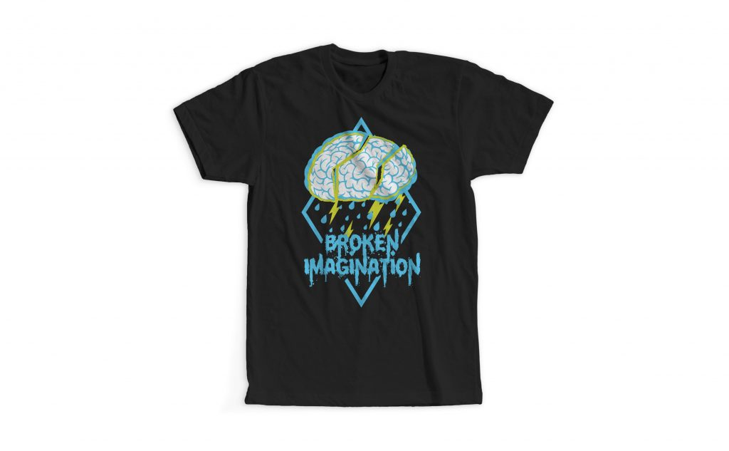 First Gig Shirt Broken Imagination