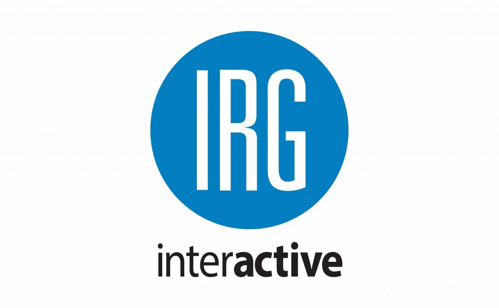 logo for IRG interactive