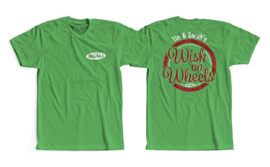 Wish on Wheels shirt design