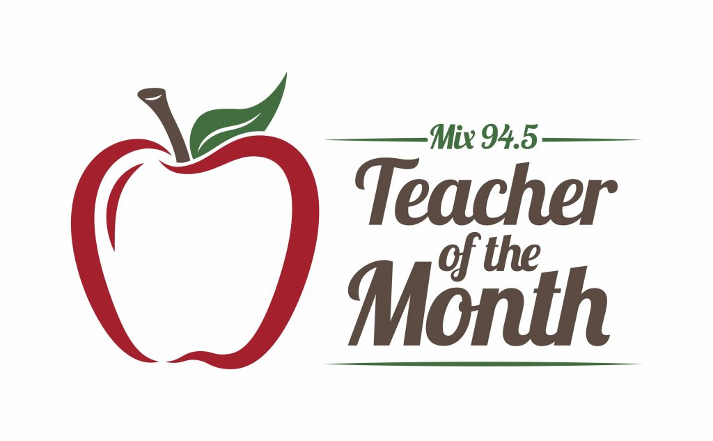 logo for Teacher of the Month