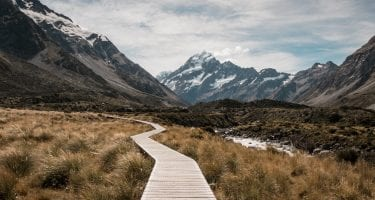 path leading to mountains finding one's purpose