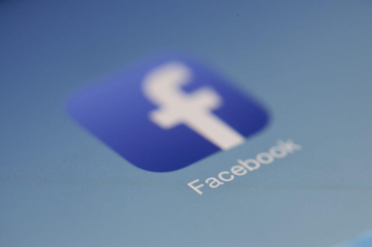 screenshot of Facebook business app