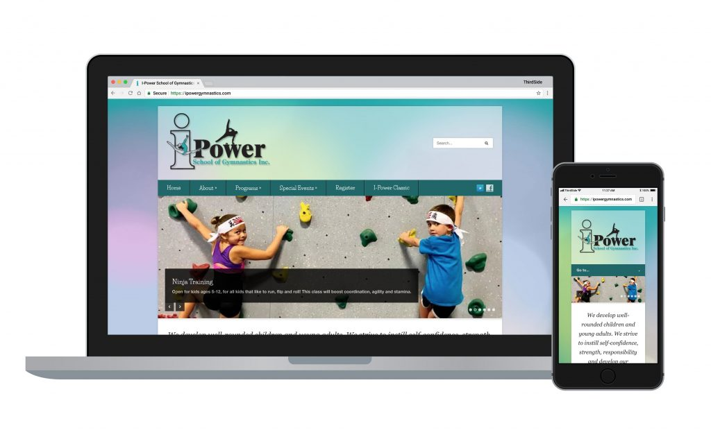 website for I-Power Gymnastics