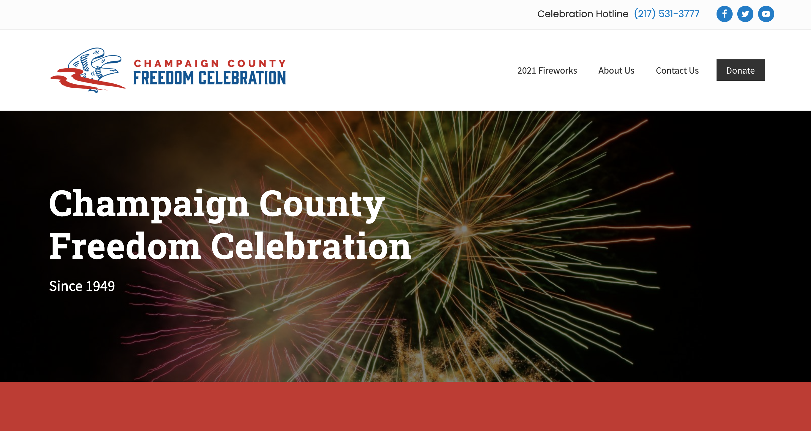 new website for Champaign County Freedom Celebration